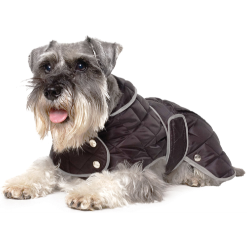 Ancol Muddy Paws Diamond Quilted Raincoat for Dogs Medium