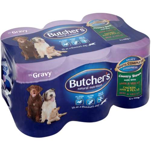 Butchers Country Feasts Dog Food 400g x 24