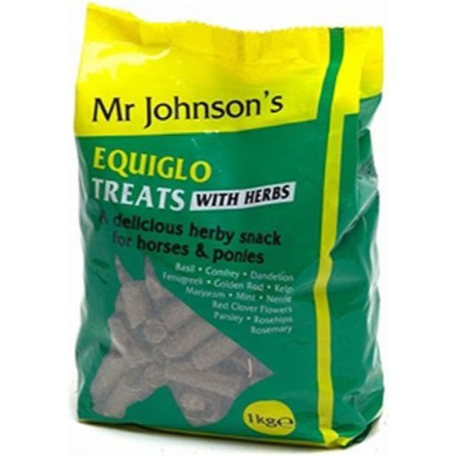 Mr Johnsons Equiglo Horse Treats with Herbs 1kg