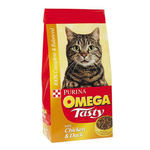 Omega Tasty Chicken & Duck Cat Food 10kg 10kg
