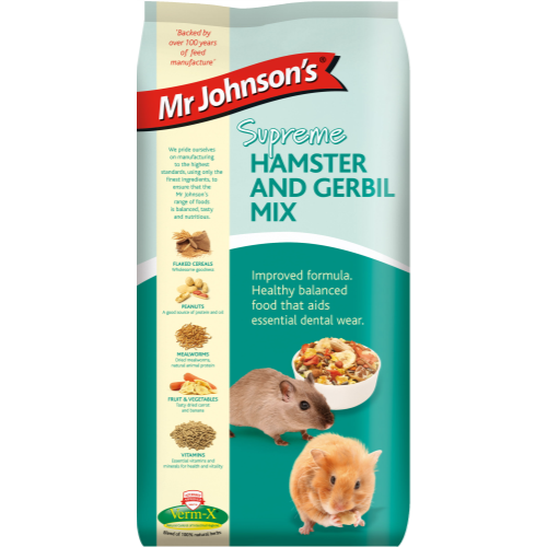 Mr Johnsons Supreme Hamster & Gerbil Mix 15kg