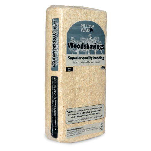 Pillow Wad Wood Shavings Pet Bedding 1kg