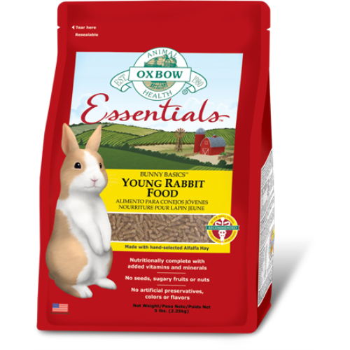 Oxbow Essentials Rabbit Food Young Adult 4.5kg