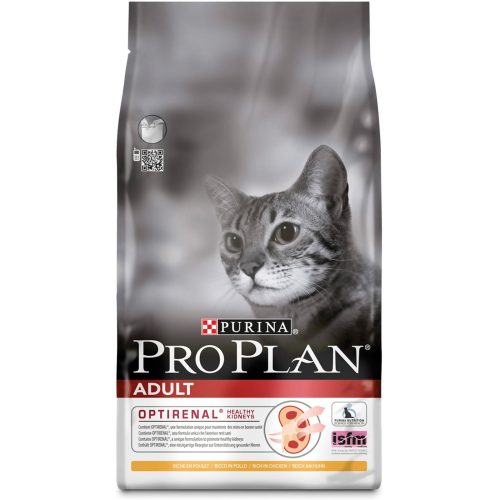 PRO PLAN Chicken Optirenal Adult Cat Food 1.5kg
