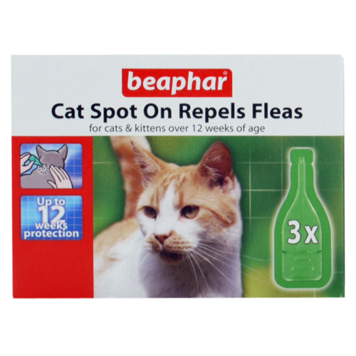 Beaphar Cat Spot On 12 Week Protection