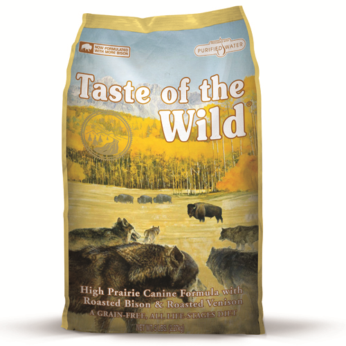 Taste Of The Wild High Prairie Roasted Venison & Bison Adult Dog Food 2kg