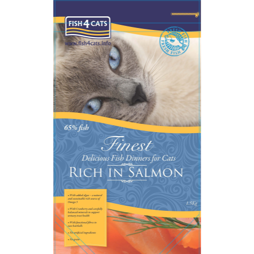 Fish4Cats Finest Salmon Cat Food 1.5kg