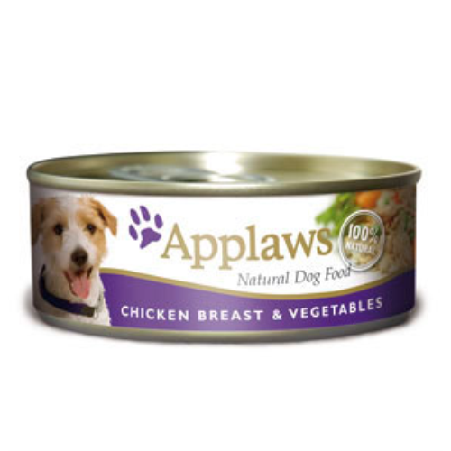 Applaws Chicken & Vegetables Wet Can Adult Dog Food 156g x 24