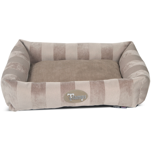 Tramps Aristocat Lounger Cat Bed Tan