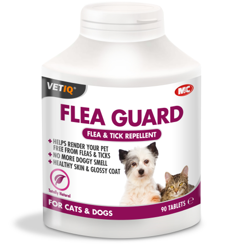 Mark & Chappell VetIQ Flea Guard for Cats & Dogs 90 Tablets