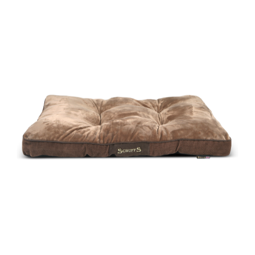 Scruffs Chester Mattress Dog Bed Medium - Chocolate