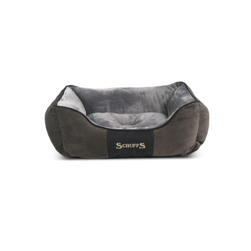Scruffs Chester Box Dog Bed Small - Graphite