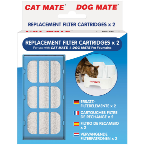 Cat Mate Water Fountain 2 Replacement Filters