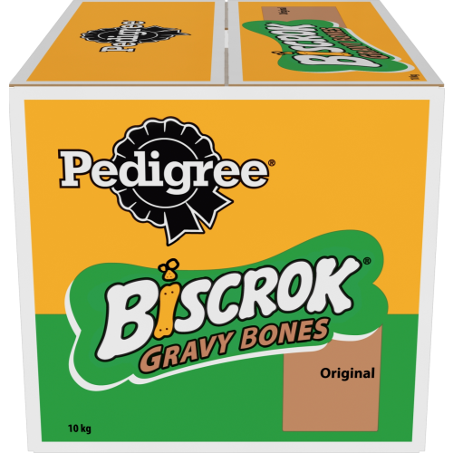 Pedigree Biscrok Gravy Bones With Chicken Dog Treat 10kg