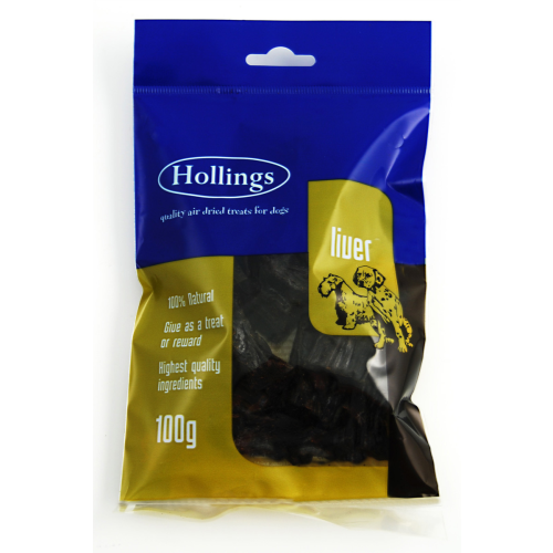 Hollings Liver Air Dried Pre Pack 100g