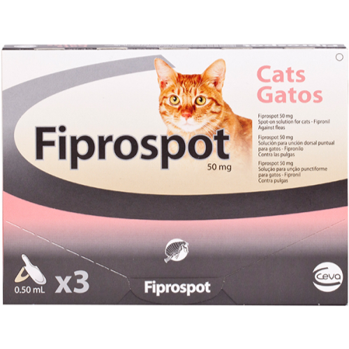 Fiprospot Spot On Cat 6 pipettes NFA-C