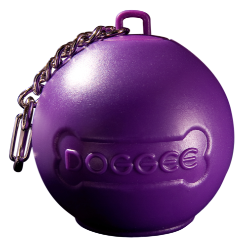 Baggee Doggee Poop Bag Holder Purple