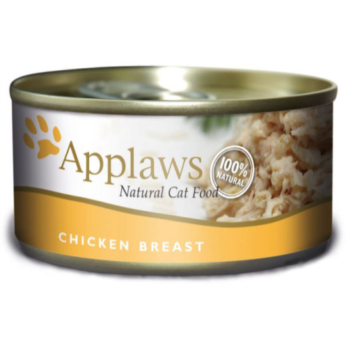 Applaws Chicken Breast Wet Can Adult Cat Food 156g x 6