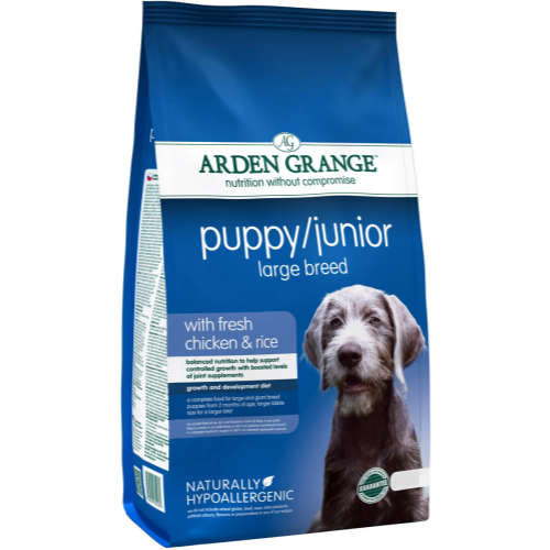 Arden Grange Chicken & Rice Large Breed Puppy Food 6kg