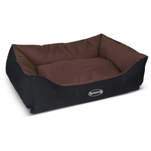 Scruffs Expedition Waterproof Dog Bed Chocolate 75x60cm