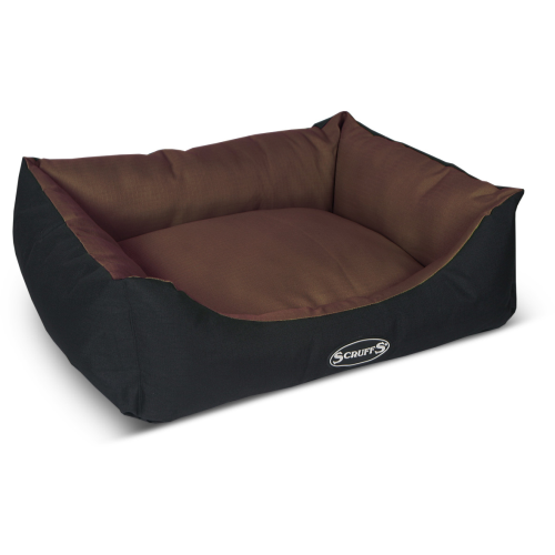Scruffs Expedition Waterproof Dog Bed Chocolate 60x50cm