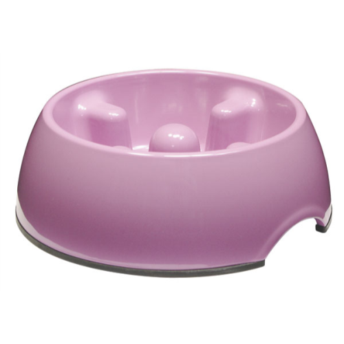 Dogit Go Slow Anti-Gulping Dog Bowl 300ml - Pink
