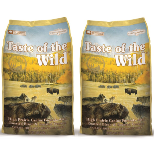 Taste Of The Wild High Prairie Roasted Venison & Bison Adult Dog Food 13kg x 2