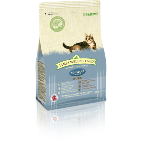 James Wellbeloved Housecat Duck Adult Cat Food 300g
