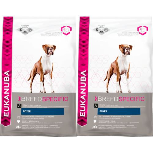 Eukanuba Boxer Adult Dog Food 12kg x 2
