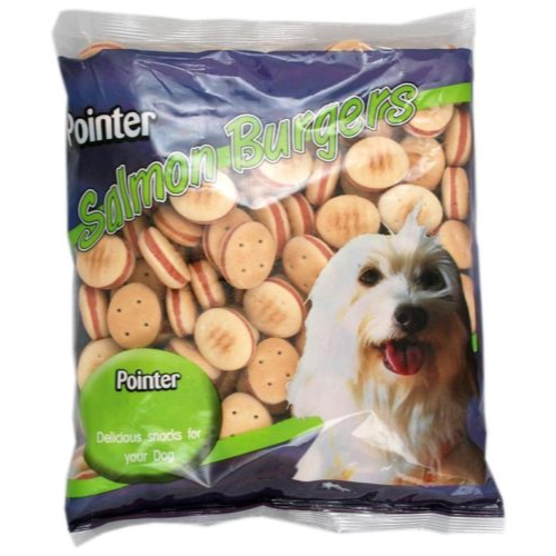Pointer Salmon Burgers Dog Biscuits 12.5kg