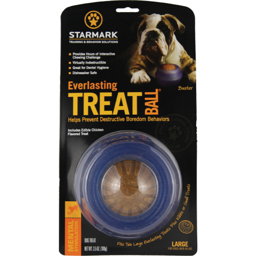 Starmark Everlasting Treat Ball Dog Toy Large