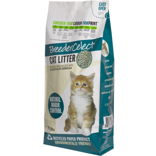 Breeder Celect Cat Litter 30 Litres