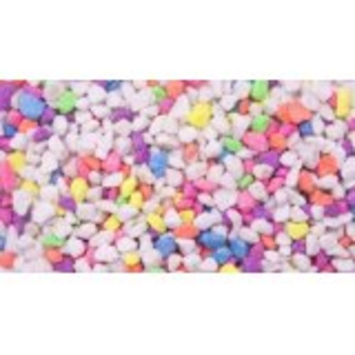 Unipac Fluorescent Coloured Gravel Mixed 25kg