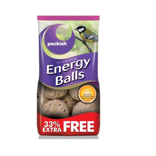 Peckish Energy Balls Bird Food 8 Pack (+33% Extra Free)