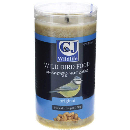 CJ Wildlife High Energy Peanut Cake Wild Bird Food 500ml Original