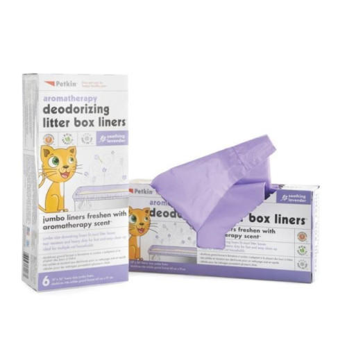 Petkin Cat Litter Box Liners Pack 6