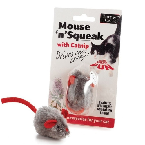 Mouse n Squeak Catnip Cat Toy