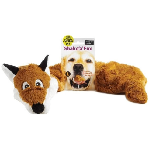 Shake a Fox Dog Toy Large
