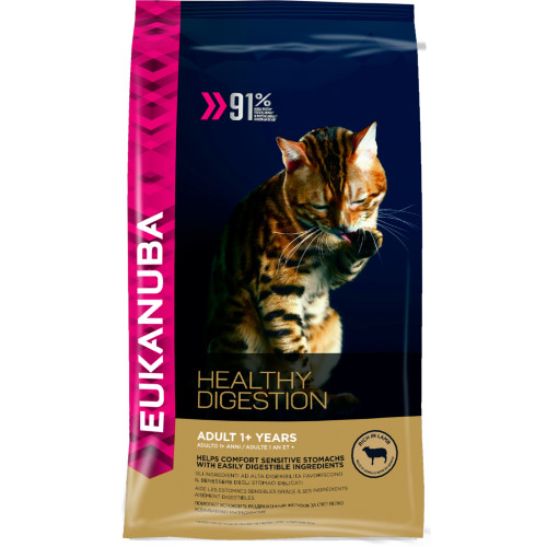 Eukanuba Healthy Digestion 1+ Rich in Lamb Adult Cat Food 2kg