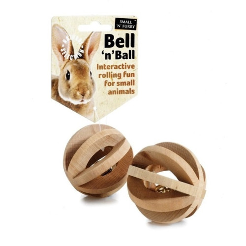 Bell N Ball for Small Animals 6cm