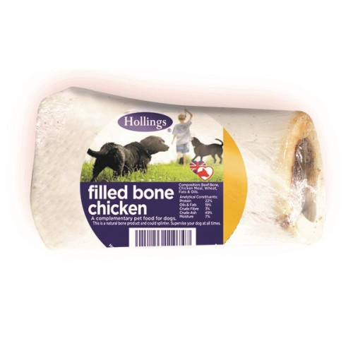 Hollings Filled Bones Dog Treats Chicken