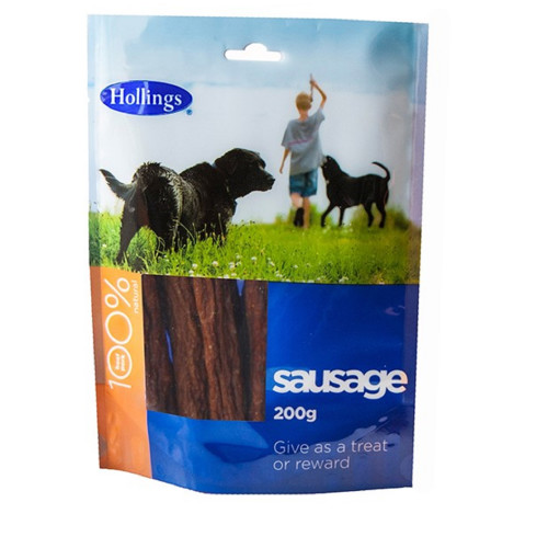 Hollings Sausage Dog Treats 200g