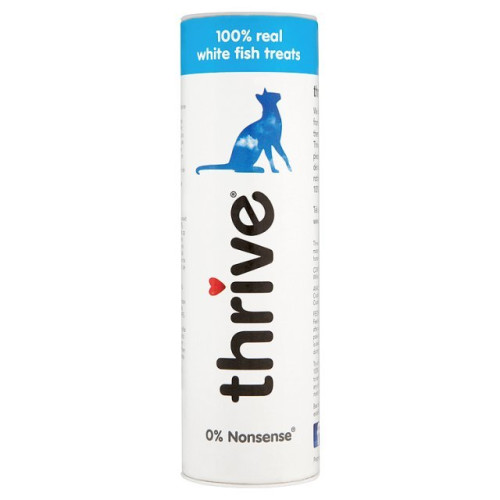 Thrive 100% Adult Cat Treats Fish 15g