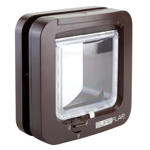 SureFlap Microchip Cat Flap Brown