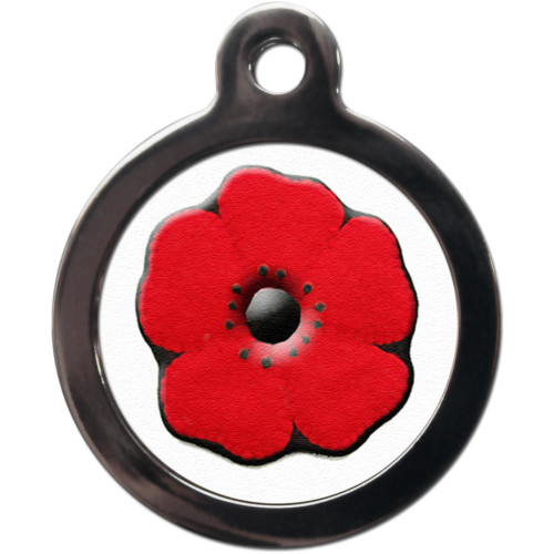 PS Pet Tags Poppy Dog ID Tag