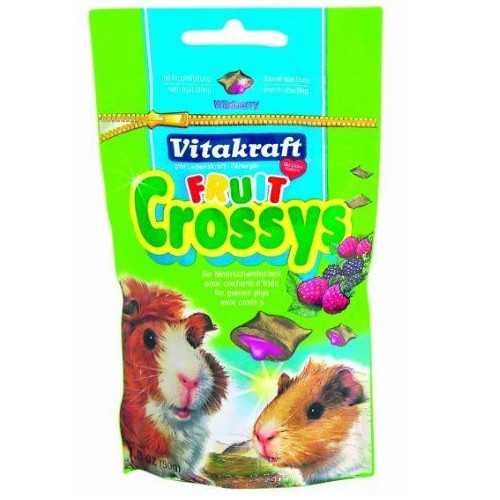 Vitakraft Fruit Crossys for Guinea Pigs Blackberry and Raspberry