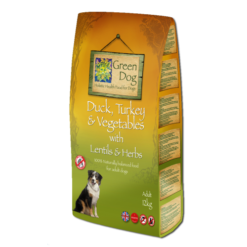 Greendog Duck Turkey & Veg Adult Dog Food 12kg