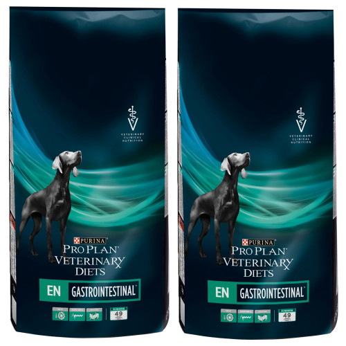 PURINA VETERINARY DIETS Canine EN Gastrointestinal Dog Food 12kg x 2