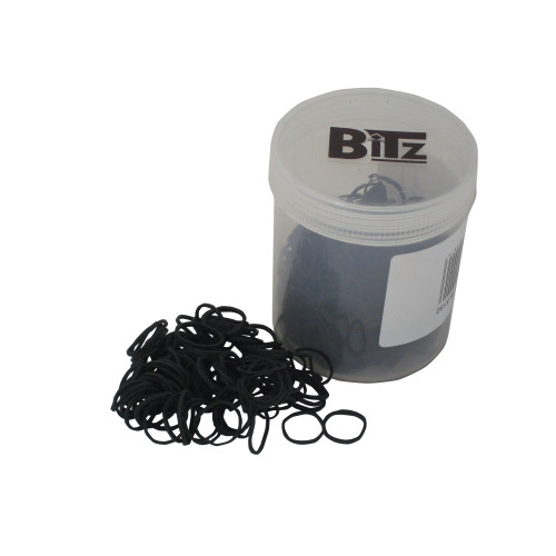 Bitz Plaiting Bands Black 500 Pack