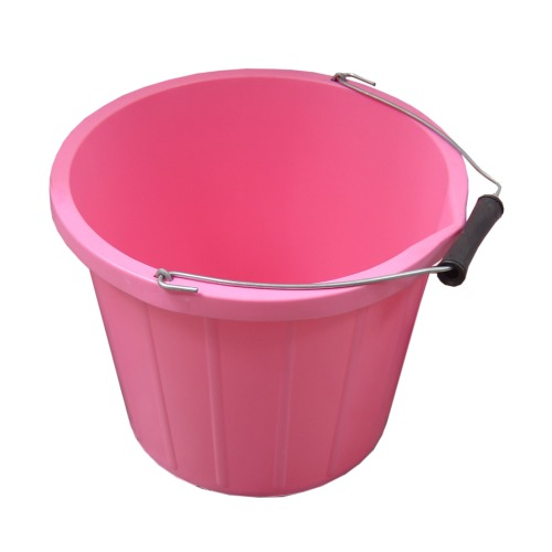 ProStable 3 Gallon Water Bucket Pink